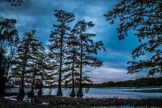 Winter Quarters Louisiana sunset