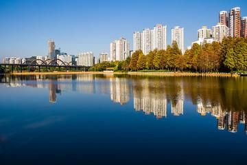 Shenzhen Honghu Park Landscape