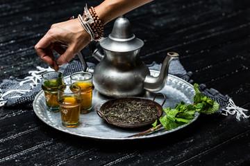 tea setting