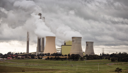 Loy Yang power station in Victoria, Australia