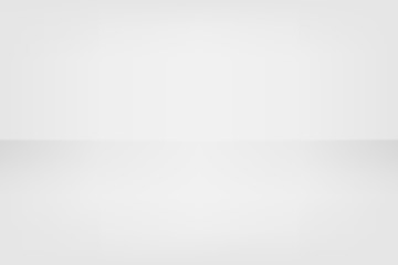 Vector white grey abstract background empty room with spotlight effect