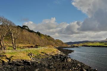 Beautiful landscapes of Scotland.