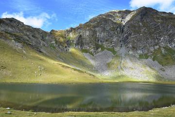 Damga Lake - One of the six Urdini Lakes in Rila Mountain, Bulgaria