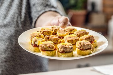 Mini sandwiches