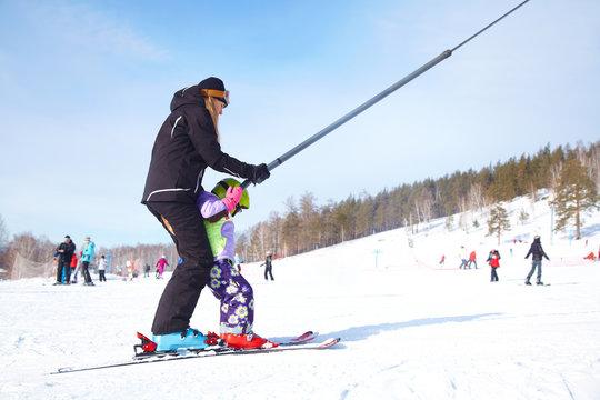 learning alpin ski