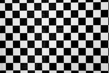black and white square checker tablecloth background , hd picture