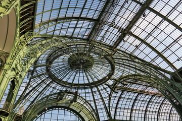 dôme de la verrière du Grand Palais
