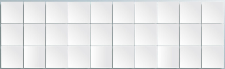 White Squares Abstract Header