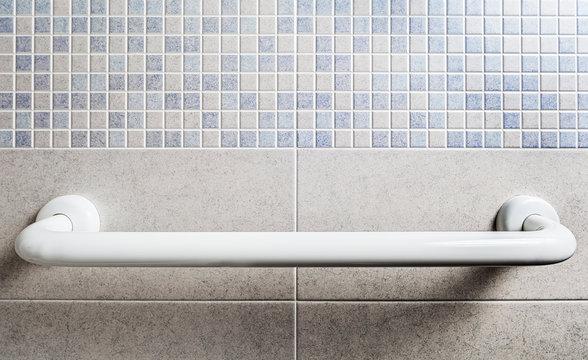 Bathroom safety handle