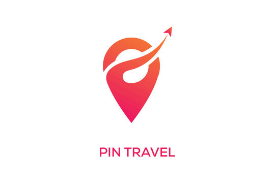 PIN TRAVEL LOGO DESIGN
