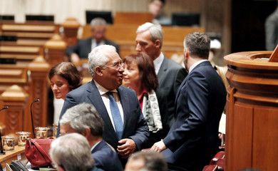 Portugal's Prime Minister Antonio Costa arrives at a debate on the 2019 state budget at the parliament in Lisbon