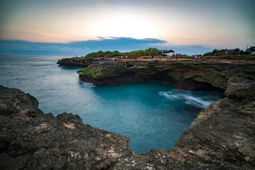 Nusa Lembongan cliffs in Bali
