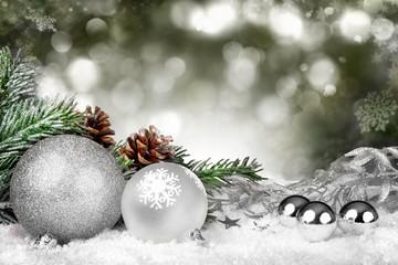 Glitzernde Weihnachten
