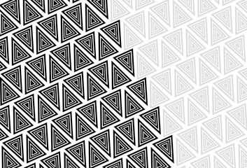 Background with gray and black triangles.