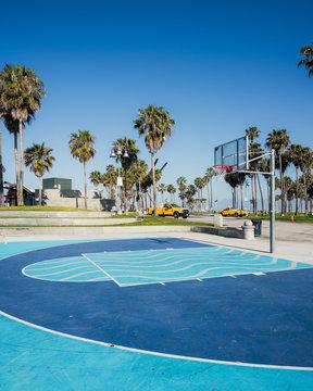Venice beach basketball court