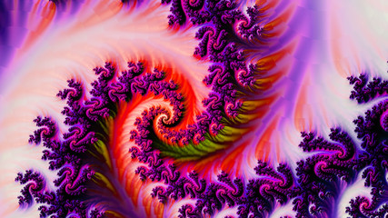 3d abstract computer generated fractal design.Fractal is never-ending pattern.Fractals are infinitely complex patterns that are self-similar across different scales.
