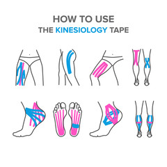 how to use the kinesiology tape