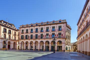 Luis Lopez Allue Square, Huesca, Spain
