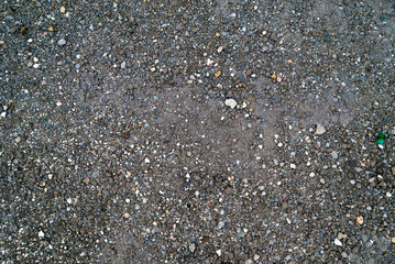 Gravel, dirt, earth, sand and stones ground texture