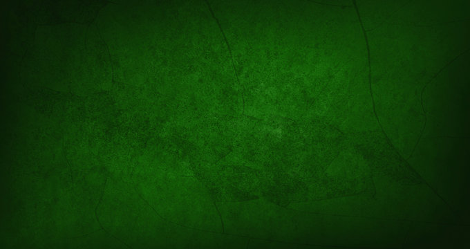 Blank dark green texture surface background
