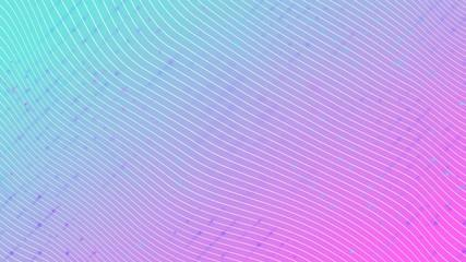 White stripes on a gradient magenta cyan background