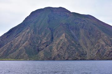Stromboli island and volcano,Aeolian islands
