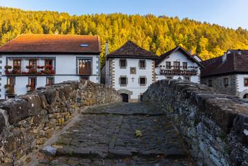 Ochagavia-Otsagabia, located in the Pyrenees of Navarre, Spain