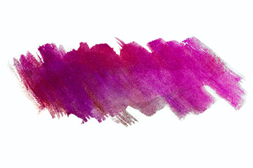 watercolor texture with paint stains painted with a brush fuchsia bright purple