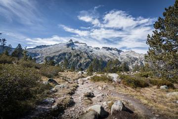 Massif du Neouvielle, Pyrénées, près du lac d'Aubert