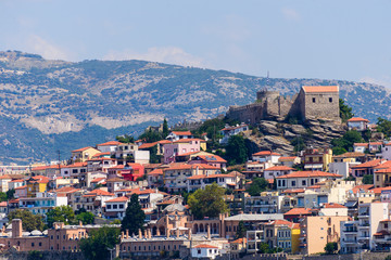 Old city and the fortress, Kavala, Greece