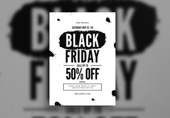Black Friday Flyer Layout