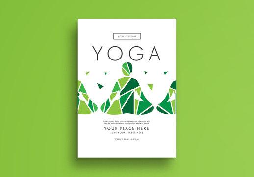 Yoga Flyer Layout