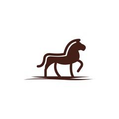 horse elegant logo symbol vector download