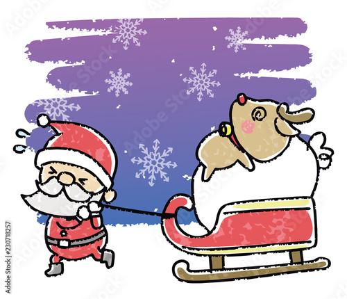 クリスマス イラスト 手書き風 Stock Image And Royalty Free Vector