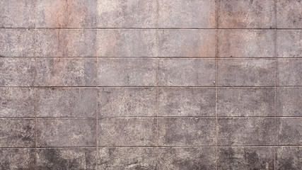 Wall Mural - Old brick wall color brown background or texture