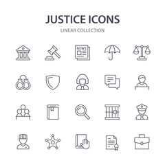 Justice icons.