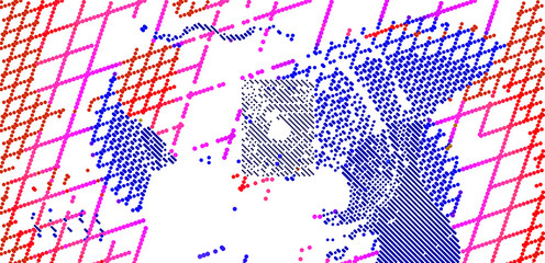 -abstract vector background-Dot Graphics