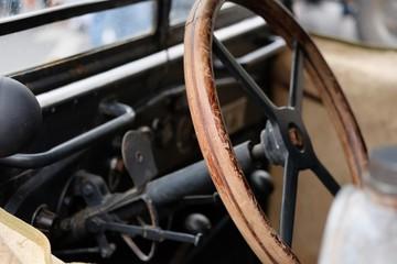 rare car steering wheel