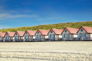 Strandhäuser Nordsee in Holland
