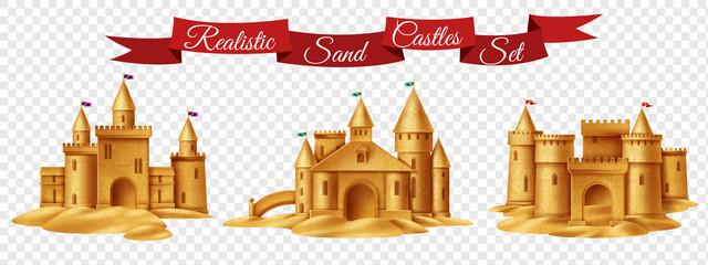Sand Castle Transparent Set