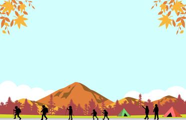 紅葉 ハイキング