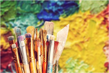 Different Artist brushes