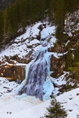 Wall Mural - Waterfall Krimml - Tirol Austria