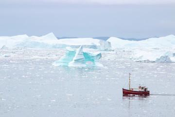 Zelfklevend Fotobehang Arctica Diskobucht Grönland