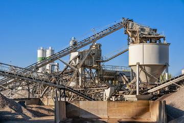 construction industry concrete plant