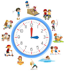 Time relate with activity