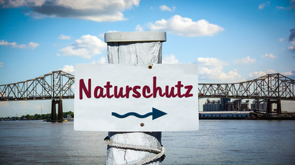 Schild 387 - Naturschutz