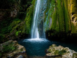 Vadu Crisului waterfall, Oradea, Bihor county, Romania