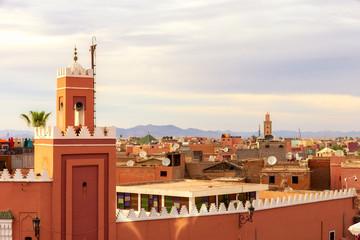 minaret medina old city marrakesh