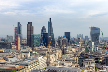 Skyline city London